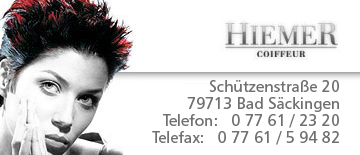 Coiffeur Hiemer in Bad Säckingen