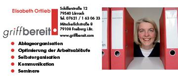 Griffbereit Elisabeth Ortlieb in Lörrach