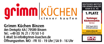 Küchen Grimm Breisach GmbH in Lörrach