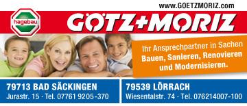 Baufachmarkt Götz und Moriz in Rheinfelden