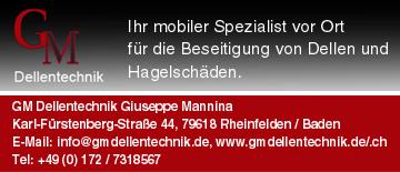 Dellentechnik Giuseppe Mannina in Rheinfelden