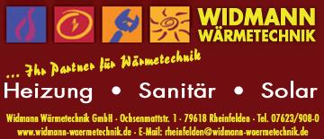 Wärmetechnik Widmann GbmH in Rheinfelden