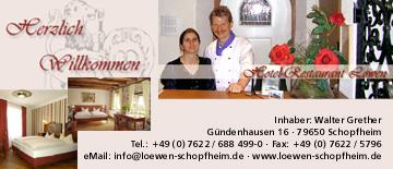 Hotel Gasthaus  Löwen in Schopfheim