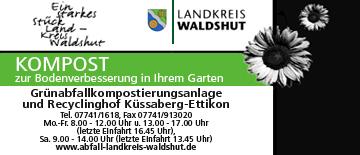 Abfallwirtschaft Landratsamt Waldshut in Waldshut