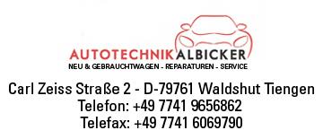 Autotechnik Albicker in Waldshut