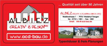 Creativ&- Designbau  Albiez in Waldshut