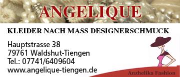 Schneiderin/Schmuckdesignerin  Angelique in Waldshut